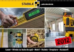 Catalog Stabila 2012